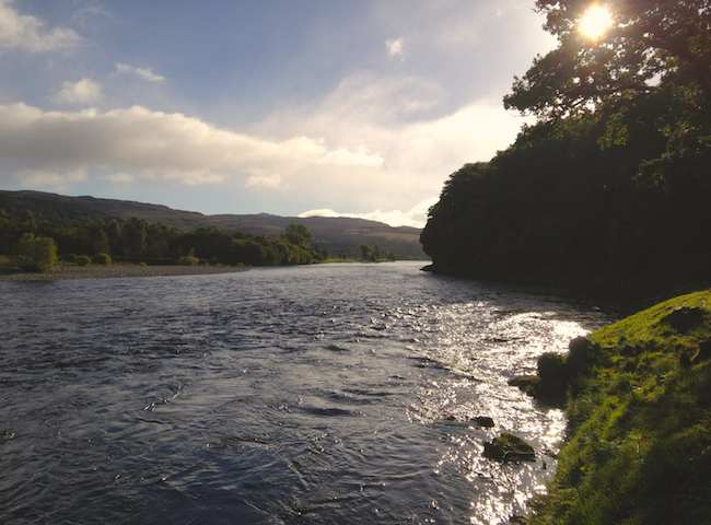 The River Tay Is Scotland's Longest Salmon Fishing River